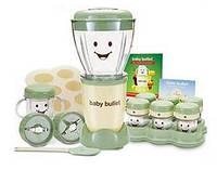 Блендер стаціонарний HappyBaby™ 200 Вт + 6 ємностей для дитячого пюре