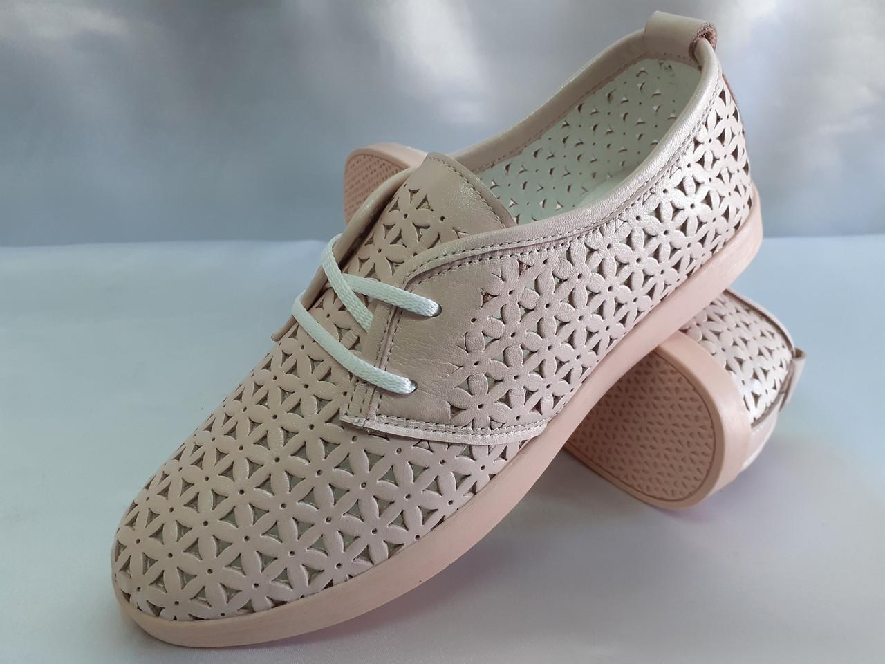 Стильные летние балетки на шнурках Terra Grande