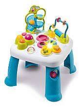 Детский игровой столик Smoby Лабиринт со звуковыми и световыми эффектами сине-белый