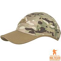 Бейсболка Helikon-Tex® Logo Cap - PolyCotton Ripstop - Camogrom®/Coyote, фото 1
