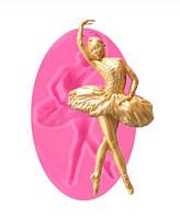 "Молд кондитерский из силикона ""Балерина"" - размер молда 10*5,5см"