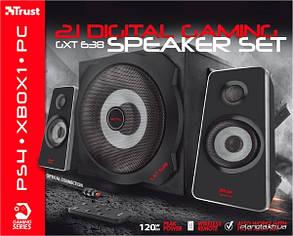 Акустическая система, колонки Trust GXT 638 Digital Gaming Speaker 2.1, фото 2