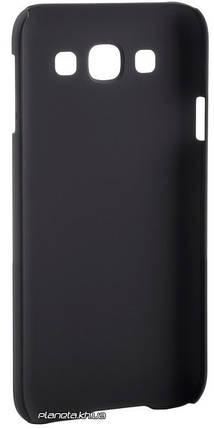 Nillkin Super Frosted Shield пластиковый чехол накладка для Samsung E5/E500 Черный, фото 2