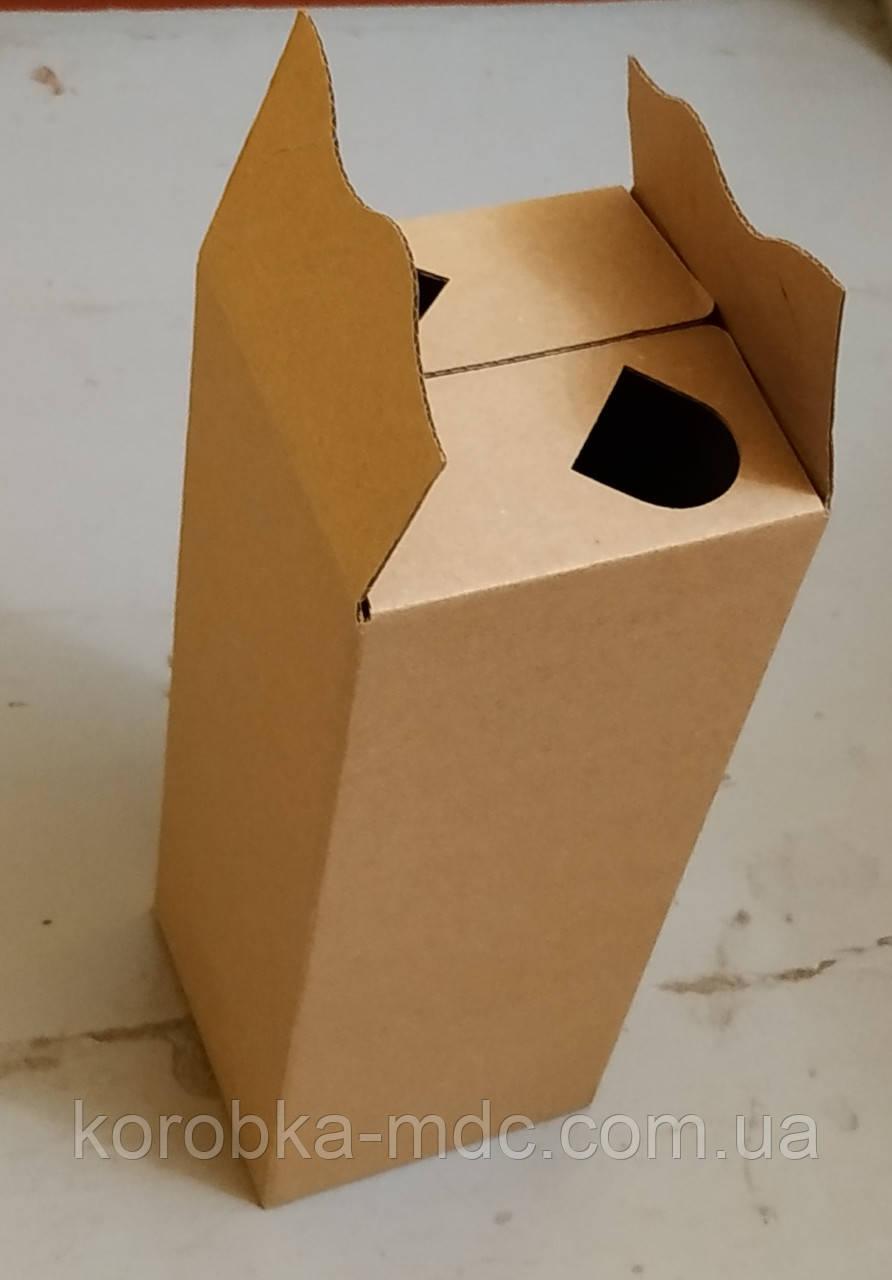 "Коробка бурая 2 л ""УНИ"""