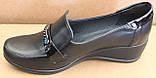 Туфли женские на широкую ногу на танкетке от производителя модель БД33Т, фото 3