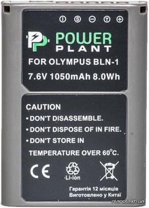 Аккумулятор (батарея) PowerPlant Olympus PS-BLN1 1050mAh, фото 2