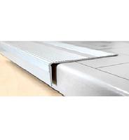 Угловой алюминиевый порожек  А (60/30)