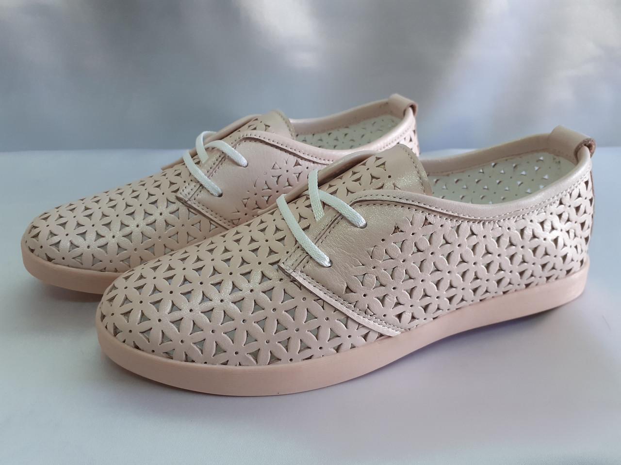 Стильные летние слипоны на шнурках Terra Grande