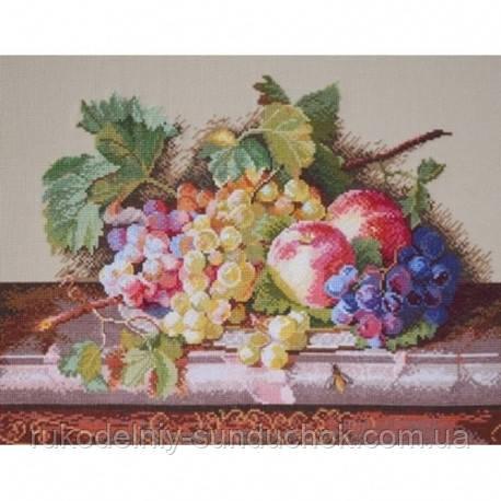 Набір для вишивання хрестом ТМ Мар'я Майстриня 04.009.05 Натюрморт з персиками