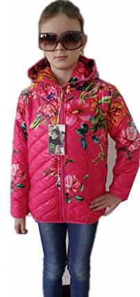 Куртка пионы, фото 2