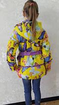 Яркие куртки детские для девочек весна-осень, фото 3