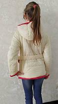 Стильная куртка  для девочки, фото 3