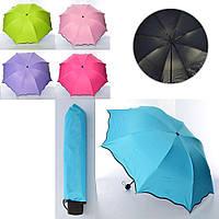 Зонтик MK 4041 (40шт) механич,трость66см,диам.92см,спица55см,в чехле,микс цв,складн,в куль,24-5-5см