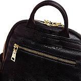 Модний рюкзак міський жіночий, розмір L Чорний, фото 7