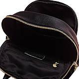 Модний рюкзак міський жіночий, розмір L Чорний, фото 8