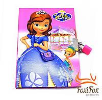 Блокнот для девочки на замке подарочный