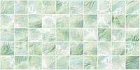Стеновые декоративные панели ПВХ Грейс (Grace) - ПЛИТКА ПЕРЛАМУТРОВАЯ ЗЕЛЕНАЯ   964х484 мм от производителя