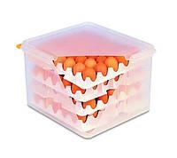 Емкость для хранения яиц с крышкой GN 2/3 Araven 00378 354х325х200 мм из полипропилена