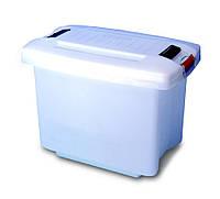 Емкость для хранения с крышкой 50 л Araven 01850 600х395х410 мм