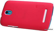 Nillkin чехол для HTC Desire 500 - Super Frosted Shield Red, фото 3