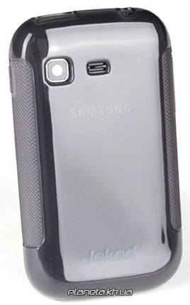 Jekod TPU Protective силиконовая накладка для Samsung S5302 Galaxy Pocket Grey, фото 2