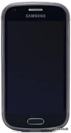 Jekod силиконовый чехол TPU Protective для Samsung S7562 Galaxy S Duos Grey, фото 2