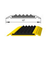 Алюминиевый порог с резиновой вставкой УЛ-150