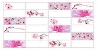 Стеновые декоративные панели ПВХ Грейс (Grace) - Плитка САКУРА  955х480 мм от производителя