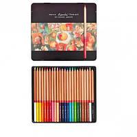 Карандаши 24 цветов FINE ART/24 ТN MARCO