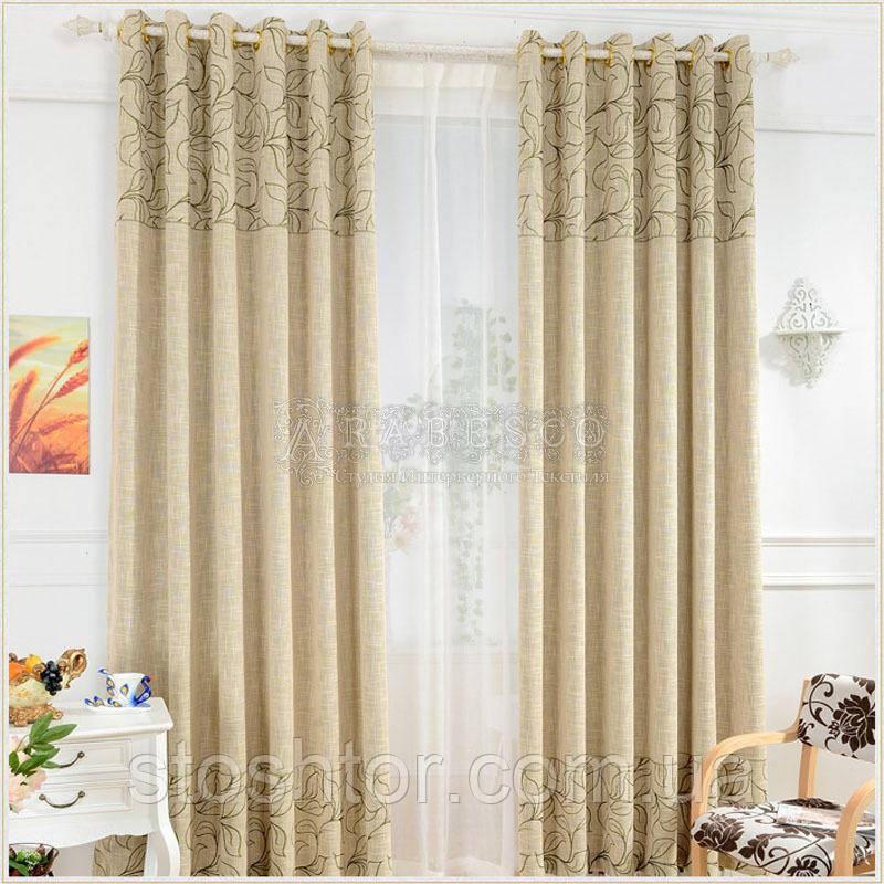 Пошив штор, гардин, тюли на тесьму 6 см и более шириной