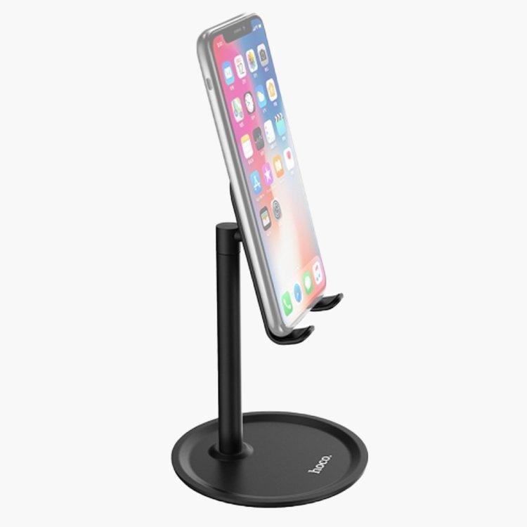 Настольная подставка Hoco PH15 Aluminium Alloy Table Stand Black