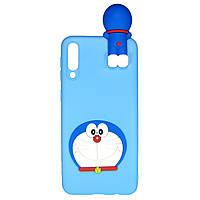 Чехол Cartoon 3D Case для Samsung Galaxy A70 Кот
