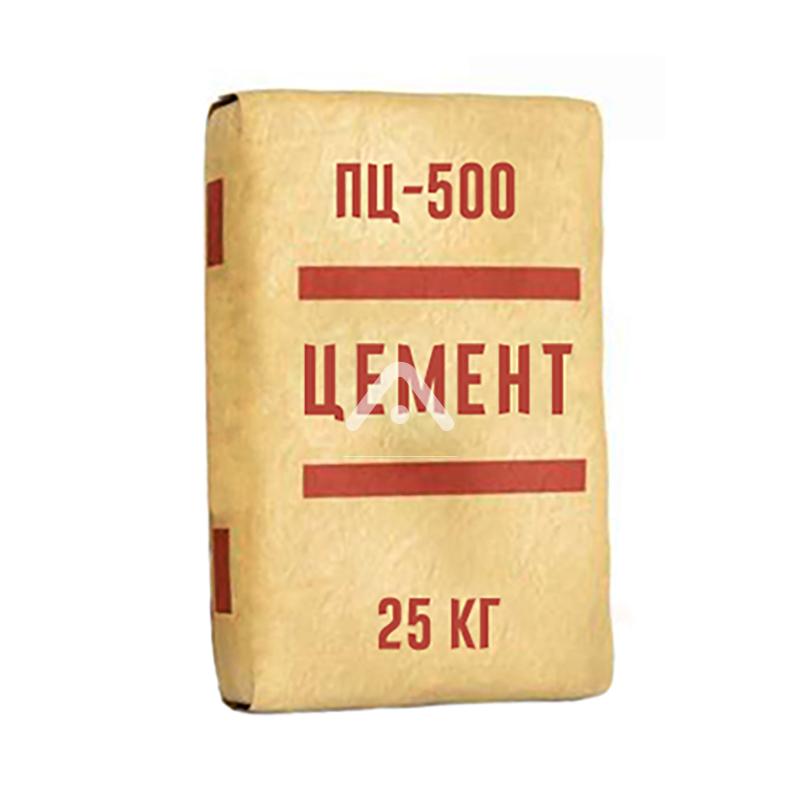 Цемент ПЦ-500 т D0 25 кг