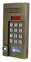 Блок виклику домофона БВД-344RТ / Металева/БрелокEM-MarinVIZIT-RF2.1 RFID-125kHz та ключ TM (DS1990A)
