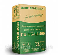 Цемент ХайдельбергЦемент М-400 25 кг
