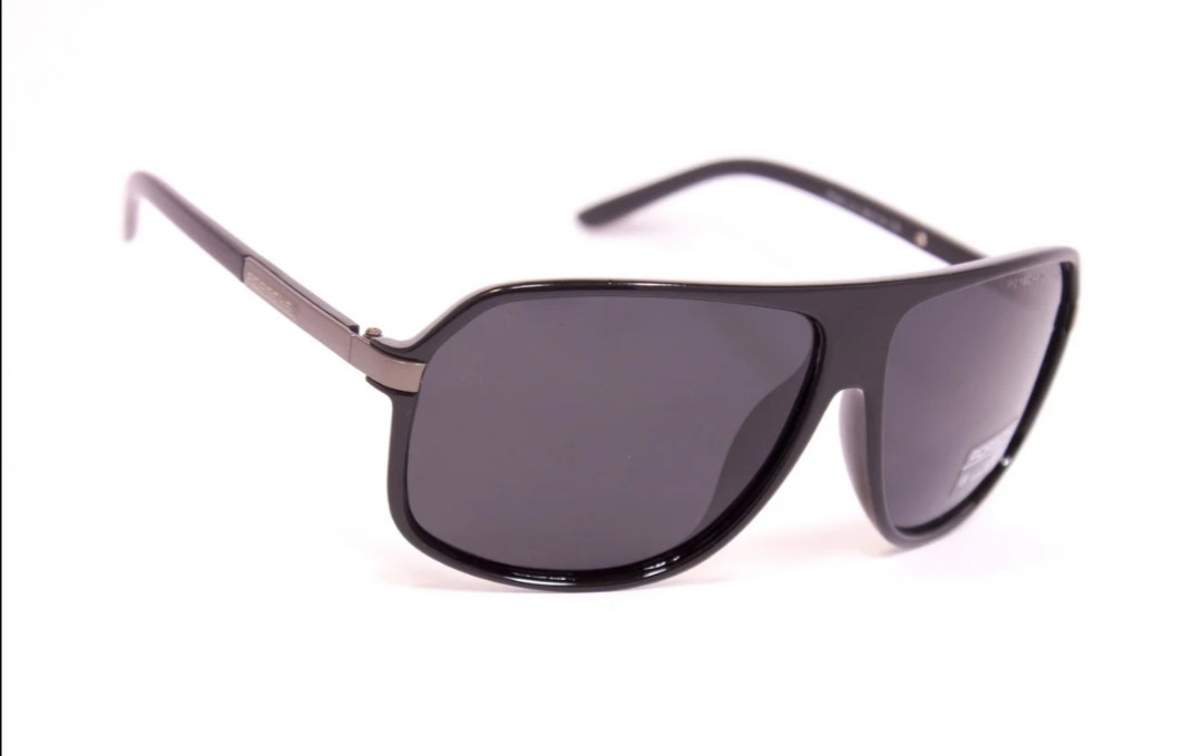 Очки polarized мужские, солнцезащитные, черные