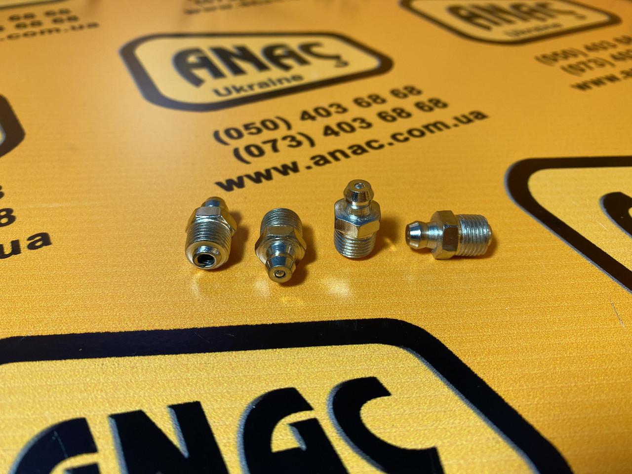 Масленка тавотница прямая 1/8 BSP на JCB номер  : 1450/0001