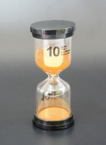 Песочные часы 10 минут простые оранжевый песок