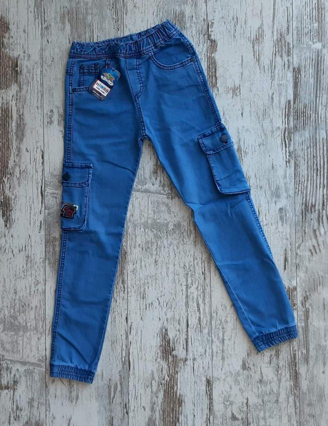 Подростковые джинсы для мальчика р. 9-12 лет опт