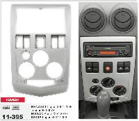 2-DIN переходная рамка Nissan Aprio 2007-2010/ RENAULT Logan 2004-2009,Tondar 90/DACIA, CARAV 11-395