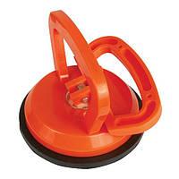 Держатель-присоска для стекол одинарная 120 мм, max 40 кг INTERTOOL HT-7101
