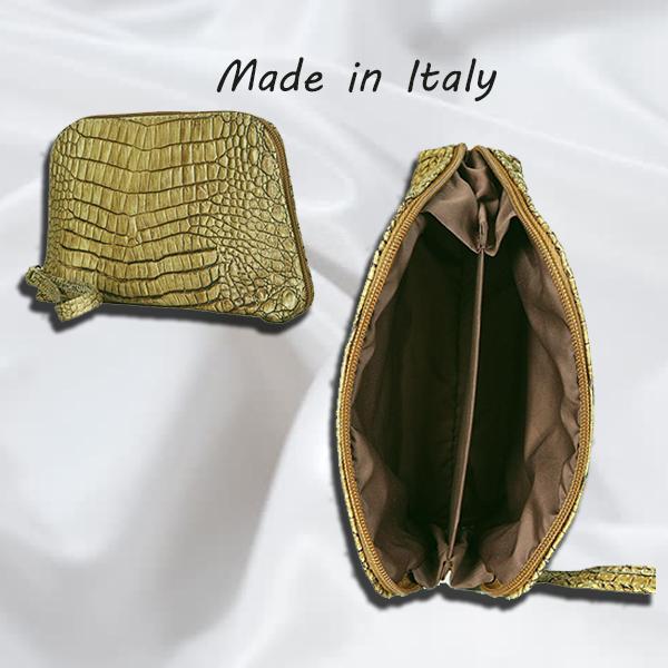 Жіноча шкіряна сумочка колір анімалістичний принт