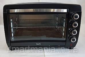 Духовка електрична піч VINIS VO-4820 з конвекцією, грилем і підсвічуванням 48L 2000W