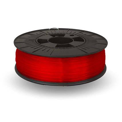 CoPET (PETg) пластик для 3D  друку .  1.75 мм.  0.75 кг.  3dplast Червоний