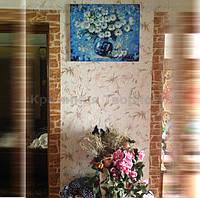 """Картина по номерам """"Ромашки"""", худ. Л. Афремов, 40х50см., (VS008, G288, MG1084) Процесс оказался очень увлекательный, маме подарок понравился)) Делала пошаговые фото) Лилия."""
