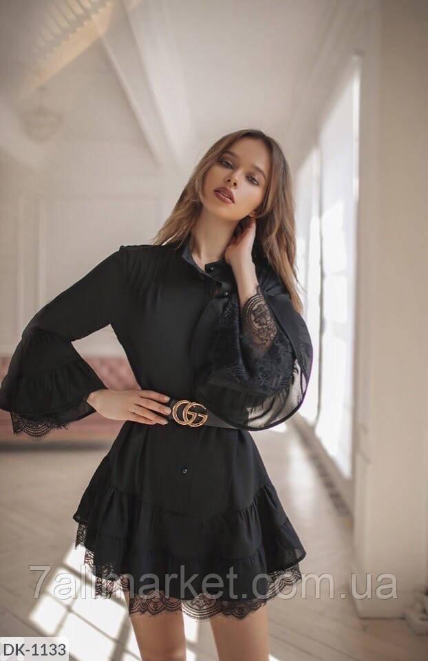 """Плаття стильне жіноче мод. 1315 (42-48) """"VALERIA"""" недорого від прямого постачальника"""