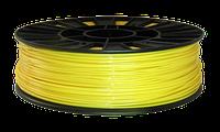 CoPET (PETg) пластик для 3D  друку .  1.75 мм.  0.75 кг. жовтий