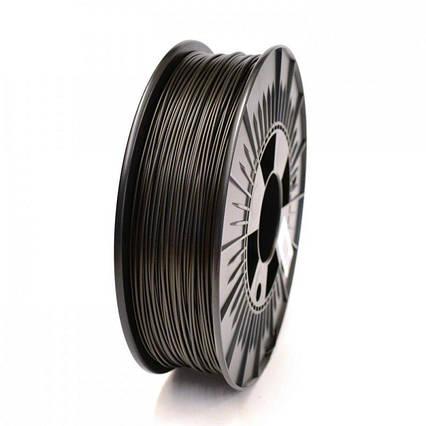 CoPET (PETg) пластик для 3D  друку .  1.75 мм.  0.75 кг. Чорний