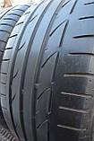 Шины б/у 255/40 R19 Bridgestone Potenza S001, ЛЕТО, пара, 5мм, фото 7