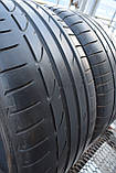 Шины б/у 255/40 R19 Bridgestone Potenza S001, ЛЕТО, пара, 5мм, фото 6
